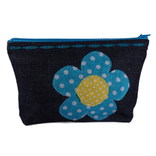 Jeans toaletka Flower Power